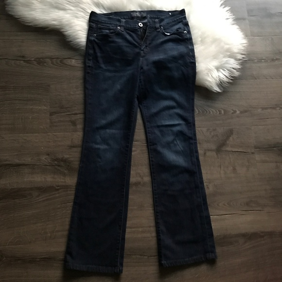 Lucky Brand Denim - Lucky Brand Brooke Slim Bootcut Ankle Jeans 8 C36
